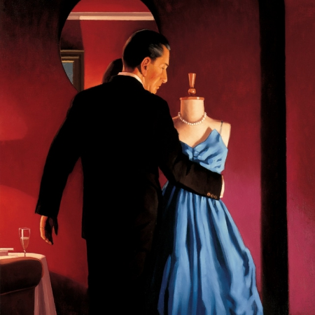 Altar Of Memory by Jack Vettriano