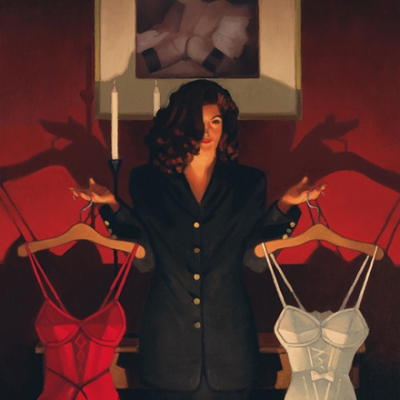 Heaven Or Hell by Jack Vettriano