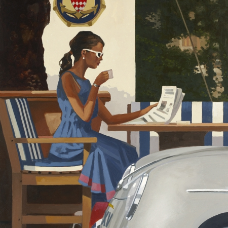 Morning News by Jack Vettriano