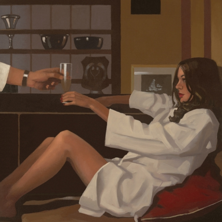 Man Of Mystery by Jack Vettriano