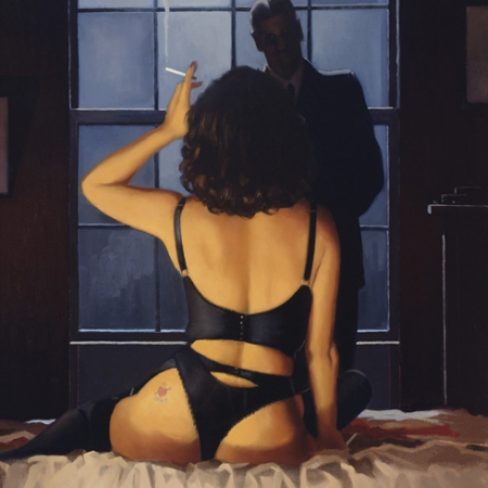 Round Midnight by Jack Vettriano