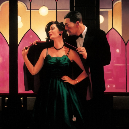 Words Of Wisdom by Jack Vettriano