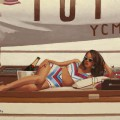 Champagne And Sunshine by Jack Vettriano